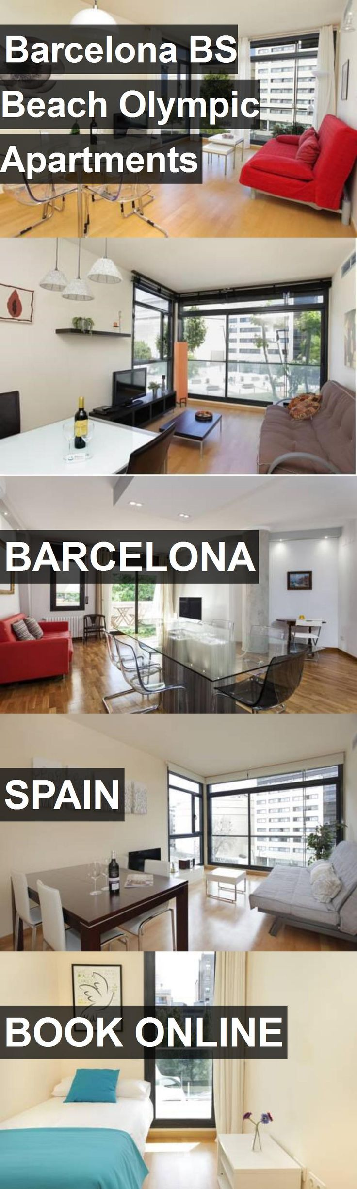 Barcelona BS Beach Olympic Apartments in Barcelona, Spain. For more information, photos, reviews and best prices please follow the link. #Spain #Barcelona #travel #vacation #apartment