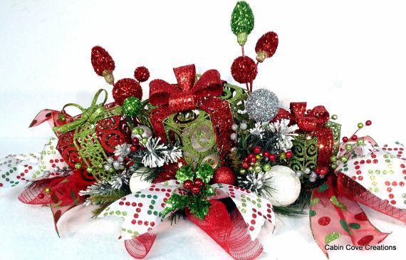 17 Best Images About Christmas Centerpieces Amp Floral