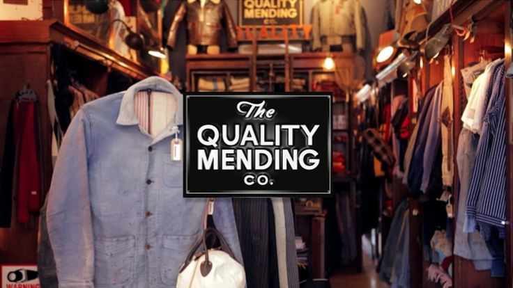 We produced, shot and directed this video for NYC men's vintage clothing store The Quality Mending Co.
