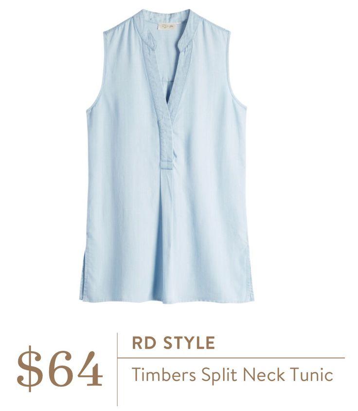 #stitchfix @stitchfix stitch fix https://www.stitchfix.com/referral/3590654 RD Style Sleeveless Denim Shirt please send me this.