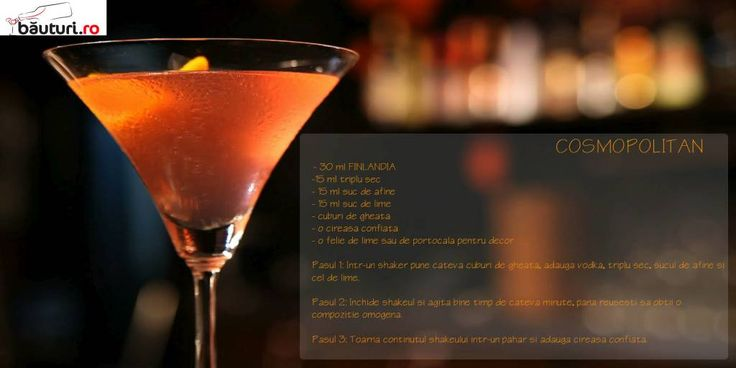 Ce vreme bună de un Cosmopolitan, nu crezi?  E simplu de făcut!  Ingredientul de bază este Vodka FINLANDIA -  https://www.bauturi.ro/vodka-finlandia/pret  Enjoy! Ne lași o poză în comentarii cu opera ta de artă?  #cocktails #finlandia