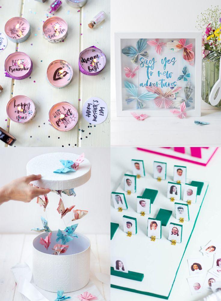 11 kreative Hochzeitsgeschenke – TRYTRYTRY