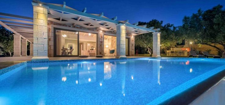 Villa Avra | Keri The stone built Villa Avra offers privacy, quiet and impressive view of the Ionian Sea and tha Marathonisi island.