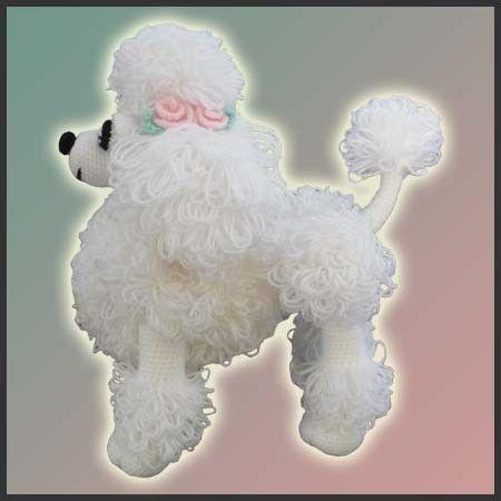 Amigurumi Pattern Crochet Lara Poodle Toy DIY by DeliciousCrochet