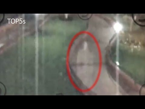 5 Of The Creepiest Ghost Sightings Caught On Tape, #2 Is BONE-CHILLING!   Mind Blowing Videos