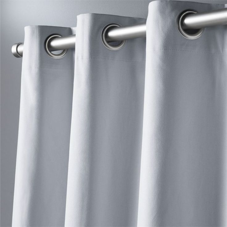 "basketweave silver grey curtain panel 48""""x96"""""