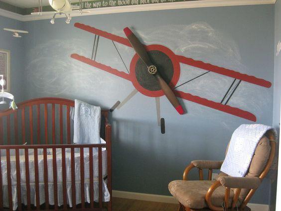 Dormitorios de temática Aviones | Habitaciones Tematicas
