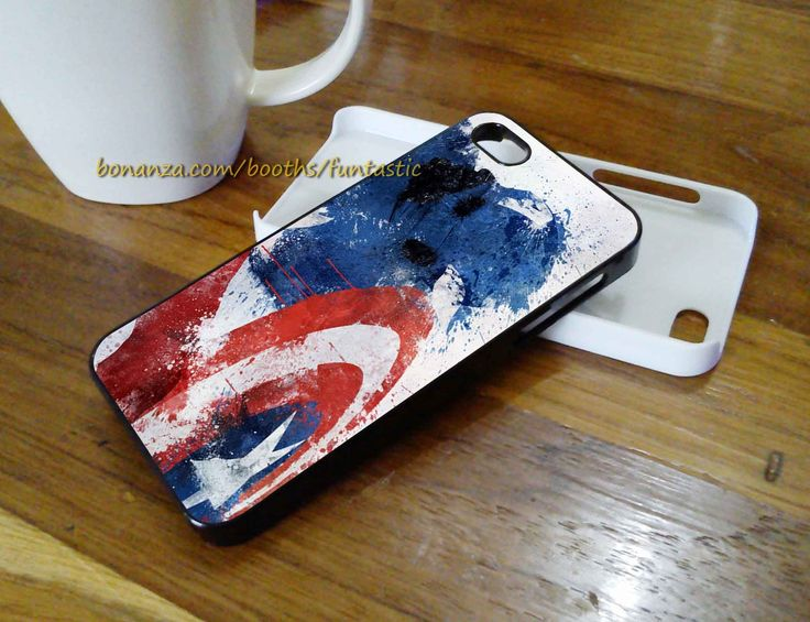 Captain America Avengers Phone Cases, iPhone 6/5C/5S/5/4/4S Case, Samsung Galaxy Case Cover