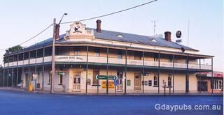 Australia! Huge move to Narromine, NSW in 1992-96. This is the Narromine Hotel--typical pub with eatery.