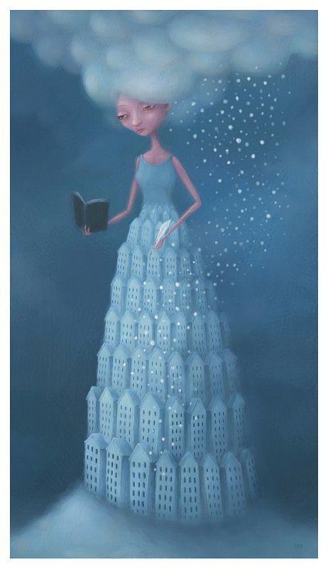 Сказочные иллюстрации от Пита Ревонкорпи (Pete Revonkorpi)