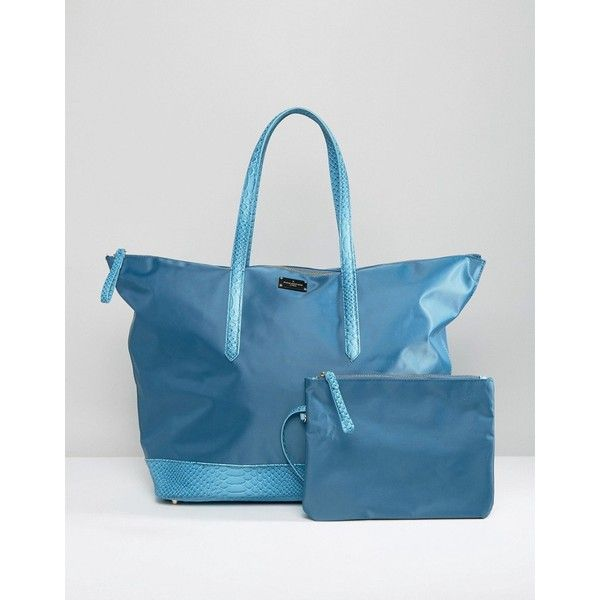 Pauls Boutique Weekender Bag (70 CAD) ❤ liked on Polyvore featuring bags, blue, paul's boutique, pauls boutique bags, weekender bag, blue bag and weekend bag