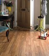 Your entryway gets a lot of traffic day in and day out.  Karndean's Kenyan Tigerwood planks ensure you don't have to worry about feet, paws (or toys) damaging your beautiful floors for years and years to come.