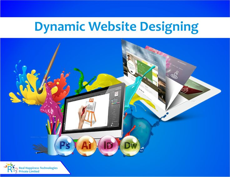 Dynamic Website Designing in Rishikesh, India A dynamic website is one whose content is regenerated every time a user visits or reloads the site.A dynamic website can contain client-side scripting or server-side scripting to generate the changing content or a combination of both scripting types. These sites also include HTML programming for the basic structure.  https://realhappiness.in/web-designing-in-rishikesh.html
