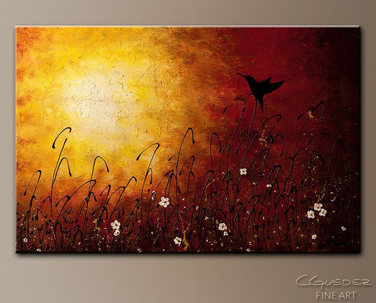Abstract Painting Ideas Acrylic: 20 Easy Abstract Painting Ideas