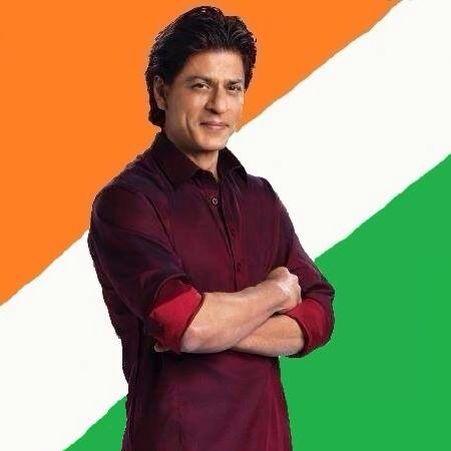 Shahrukh, proud beautiful Desi guy.