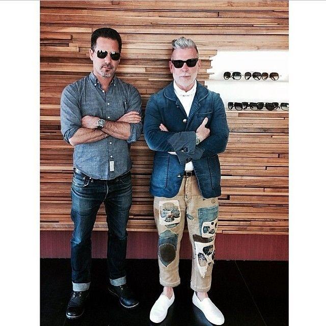 """nickelsonwooster: """" At the @ditaeyewear store in LA last week. #mcm on @jeffsolorio """""""