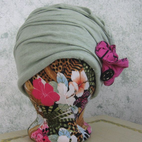 Womens Hat Pattern Upcycled Cloche Summer Fabric With Flower Trim PDF Easy To Make Resell Finished