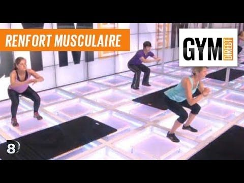 Musculation Abdos, Jambe, Cuisse, Fessiers - Renfort musculaire 49 - YouTube
