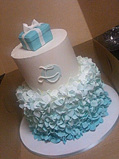 Tiffany Blue Birthday Cakes And Blue On Pinterest