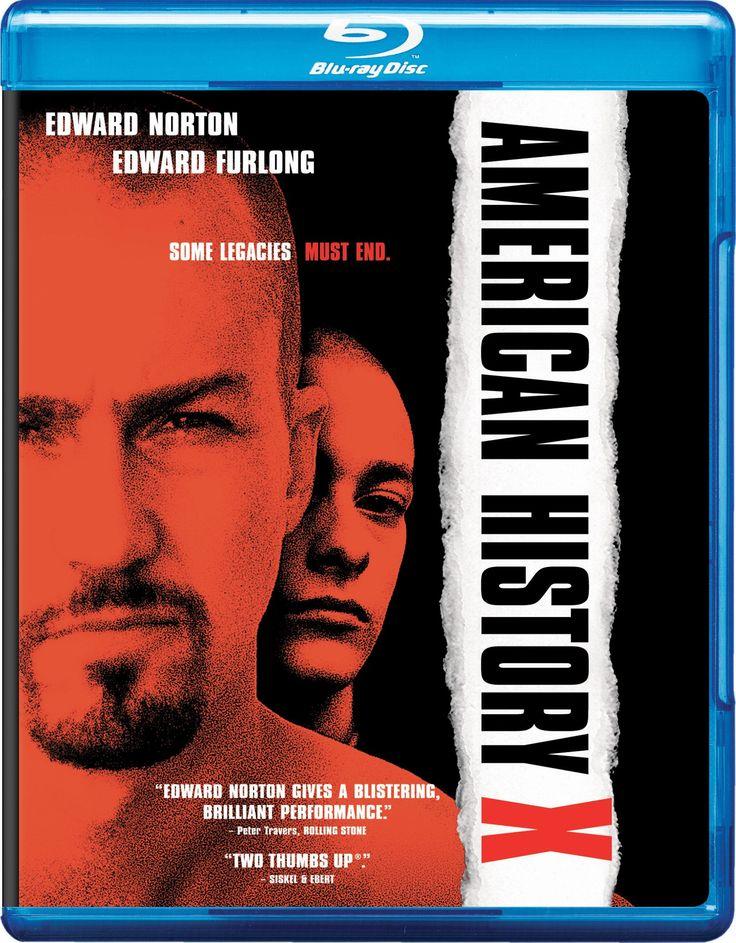 Number 32/35: American History X [Blu-ray] [1998] [Region Free]: Amazon.co.uk: Edward Norton, Edward Furlong, Stacy Keach, Avery Brooks, Beverly D'Angelo, Tony Kaye: DVD & Blu-ray