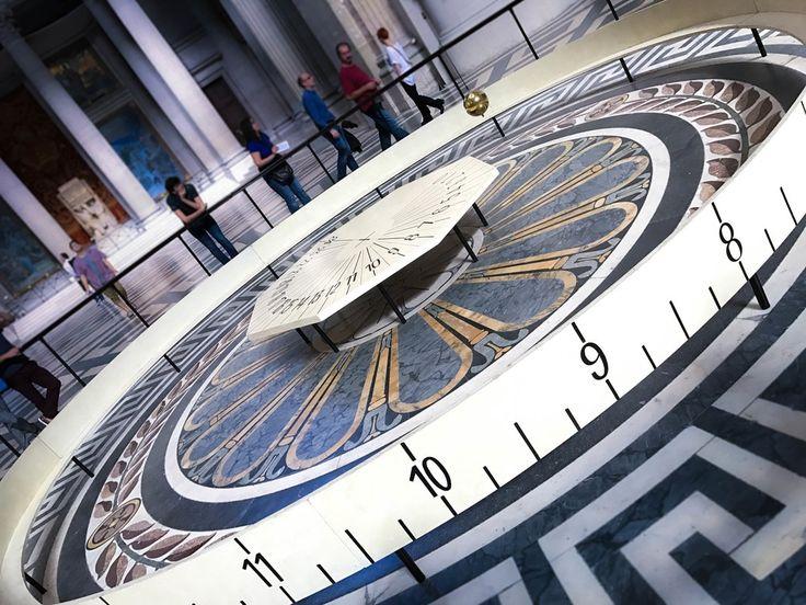 Foucault's Pendulum @ The Pantheon in Paris