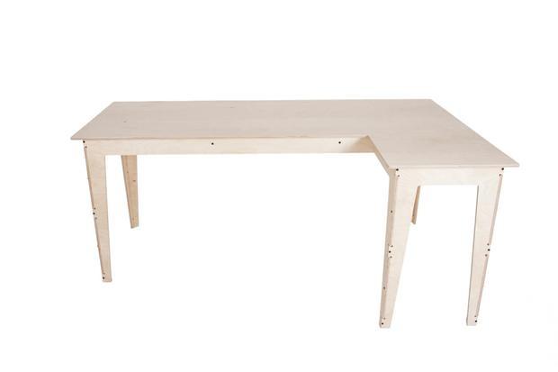 Ingvar L-Shaped Desk - pedersen+lennard