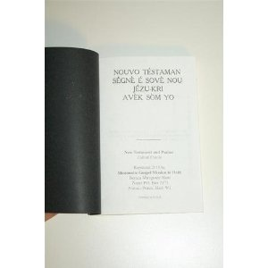 Haitian New Testament with Psalms  $39.99