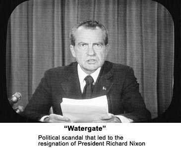 the scandal that rocked the presidency of richard nixon Watergate scandal: watergate scandal, political cover-up in the administration of us pres richard m nixon after a break-in at the democratic national committee.