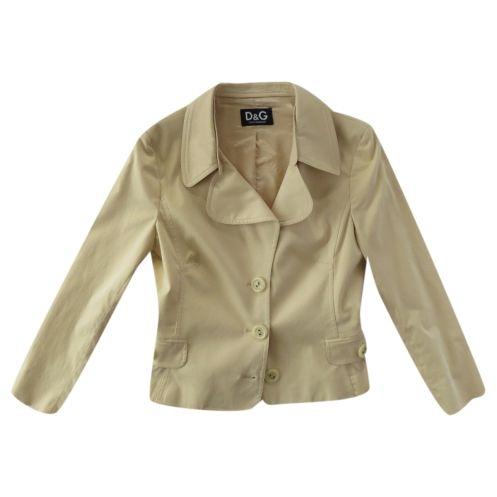 D&G - giacca beige d&g