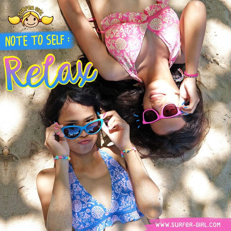 Cheers to the hard works we've done this whole week, Girls ;) For they make Saturdays so blissful :) Love, Summer <3 #surfergirl #bikini #tropicalstyle #teenagestyle #tropicalvibes #baliholiday