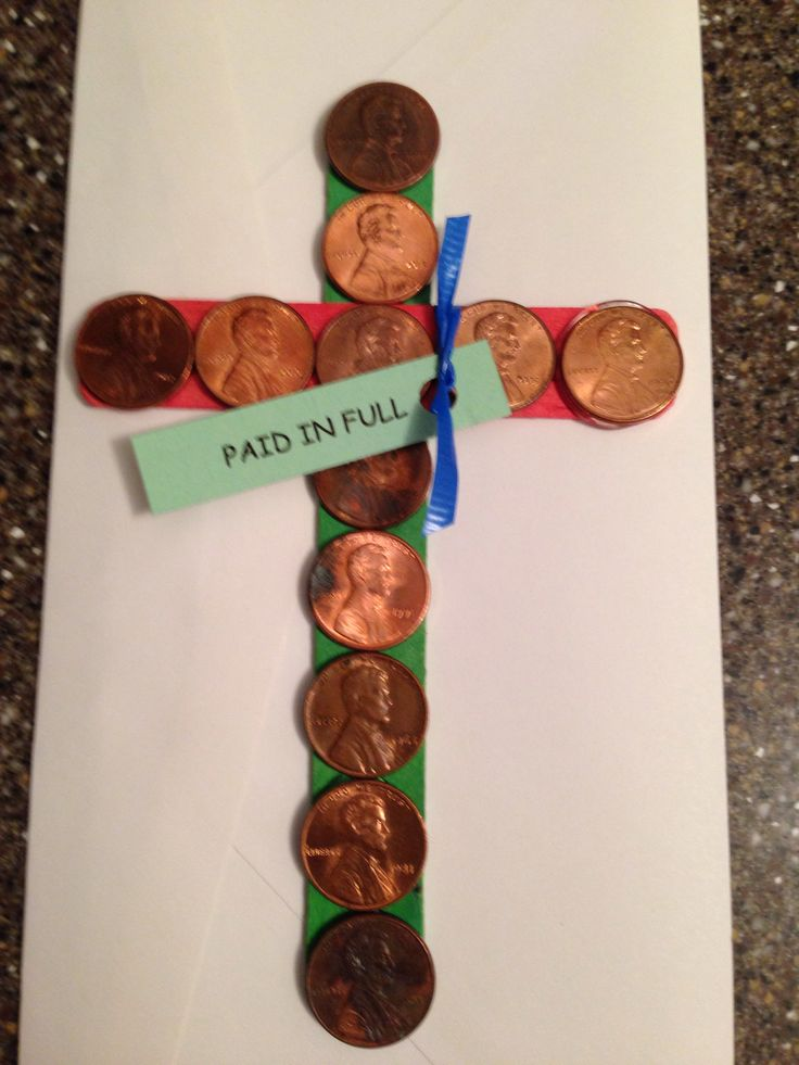 Walk to Emmaus Agape. I hot glued pennies to Popsicle sticks to make this table agape for my great-nephews walk.