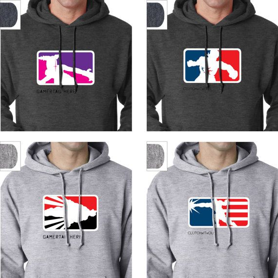 Customizable silkscreened hoodie with 2 options inspired by each of the Ultra Street Fighter 4 characters    Last 3 images are of all 88 offered