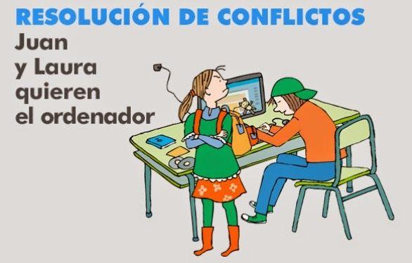 EN EL AULA DE APOYO: RESOLVER CONFLICTOS