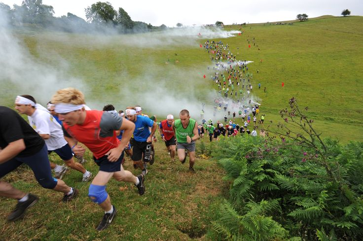 Kamikaze Banzai Charge event will see crazy runners literary throw themselves against hills, bogs, rivers and obstacles.