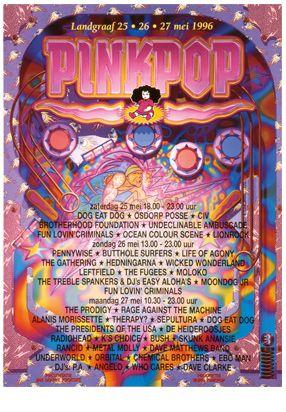 1996   Pinkpop History