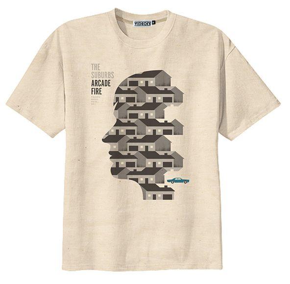 Glastonbury Line Up T-shirts - Arcade Fire #glastonbury #festival #fashion #tshirts