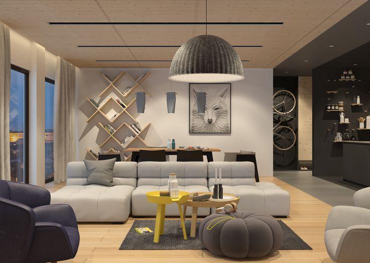 modern apartment   VIZN studio