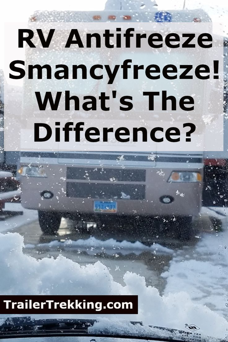 how to winterize a travel trailer with antifreeze