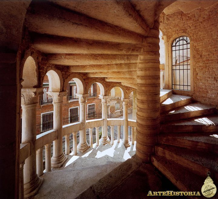 Best Inside View Of The Famous Spiral Staircase Of Palazzo 400 x 300