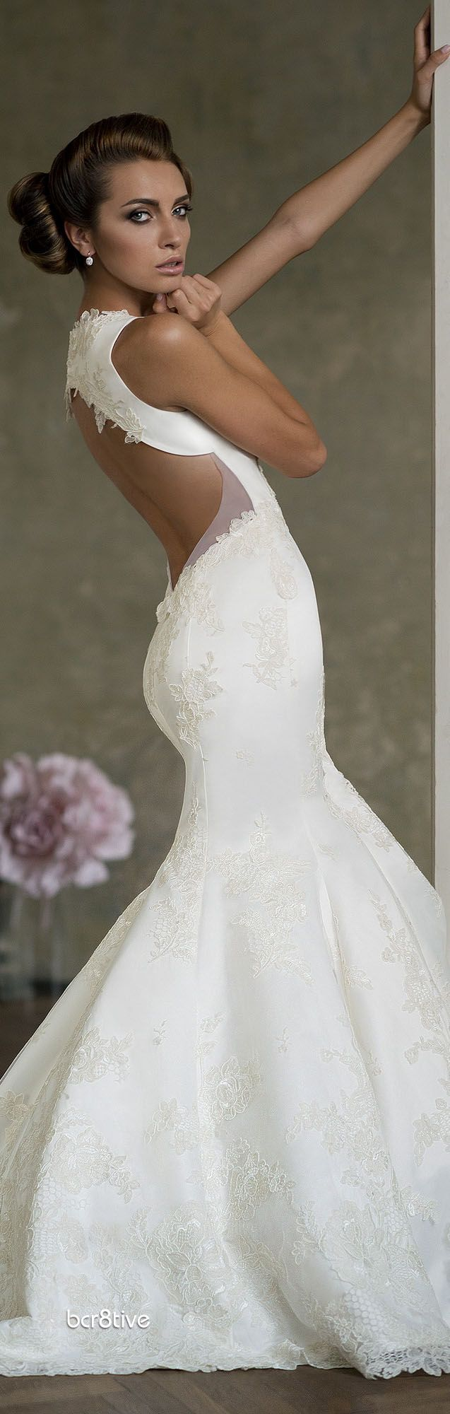 Bien Savvy -- Be in Love -- Love Story Collection - The more I see backless, lace wedding dresses the more I am leaning towards!