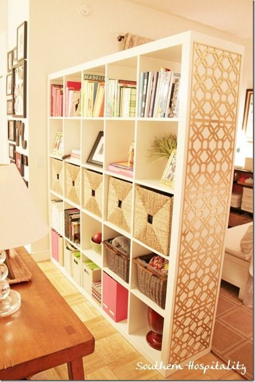 17 best ideas about room divider bookcase on pinterest bookshelf room divider pony wall and - Diy living room shelf ideas ...