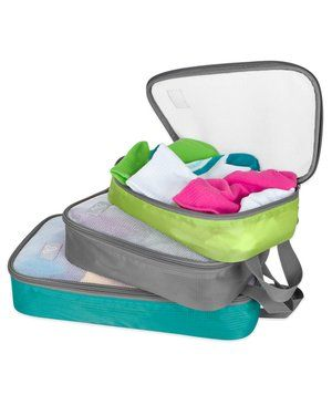 Travelon Lightweight Packing Organizers | The last thing you want to do on vacation is lose or forget something important. These organizers will keep your items in place—and make them easier to find.