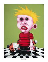 Calvin (Outsider) By Leigh Cooney