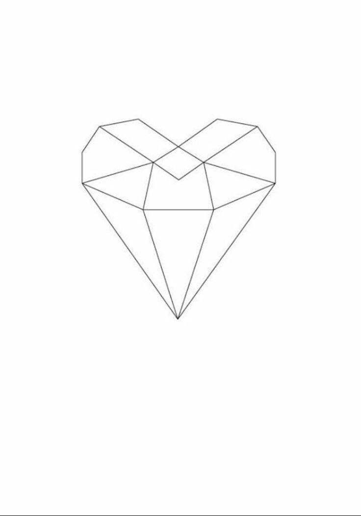 grafic heart // design by nicoline pigsborg // denmark