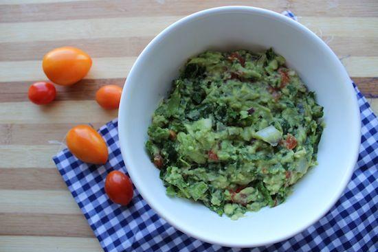 """DIY KALE GUACAMOLE """"GUACKALEMOLE"""" RECIPE via Food Heaven Made Easy"""