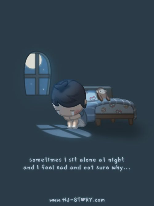 There're some days that loneliness hits me out of no where and I have no clue why…