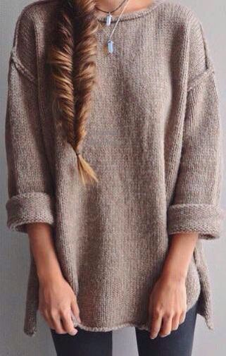 simple chic sweater