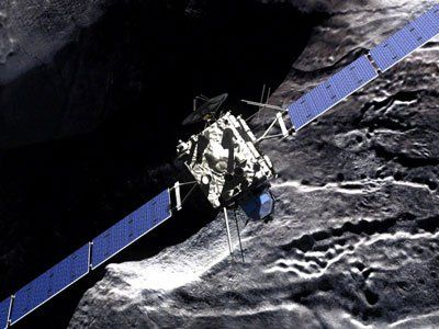 Scientists gear up for historic Comet landing