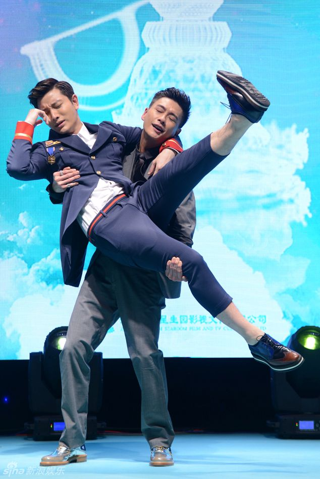 Jia Nai Liang and Bosco Wong Seriously these two.. So cute!