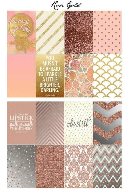 Rose Gold Themed Planner Stickers for use with by AliciaMichelleXO